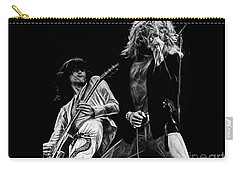 Led Zeppelin Robert Plant Jimmy Page Collection Carry-all Pouch