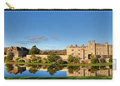 Leeds Castle And Moat Reflections Carry-all Pouch