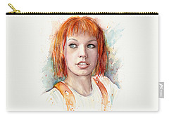 Leeloo Portrait Multipass The Fifth Element Carry-all Pouch