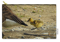 Carry-all Pouch featuring the photograph Left     Right    Left by Betty-Anne McDonald