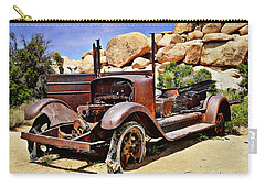 Left For Dead - Joshua Tree National Park Carry-all Pouch by Glenn McCarthy