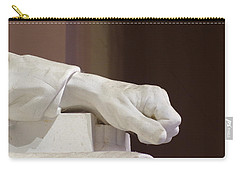 Left Hand Of Lincoln Carry-all Pouch