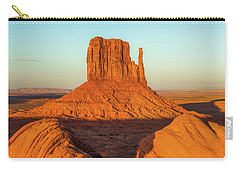 Left Mitten Sunset - Monument Valley Carry-all Pouch
