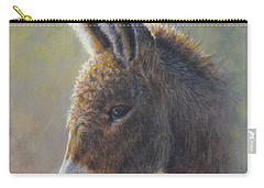 Carry-all Pouch featuring the painting Lefty by Kim Lockman