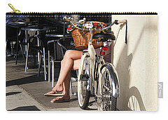 Leg Power - On Montana Avenue Carry-all Pouch