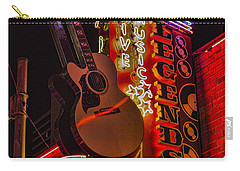 Legends Corner Nashville Carry-all Pouch by Stephen Stookey