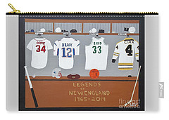 Legends Of New England Carry-all Pouch by Dennis ONeil