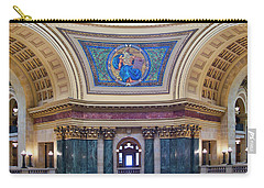 Legislation Mural - Capitol - Madison - Wisconsin Carry-all Pouch