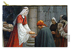 Leighton Edward Blair Charity Of St Elizabeth Of Hungary Carry-all Pouch
