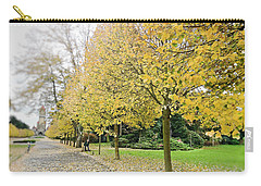 Carry-all Pouch featuring the photograph Leipzig Memorial Park In Autumn by Ivy Ho