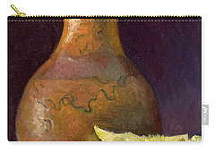 Lemon And Horsehair Vase A First Meeting Carry-all Pouch