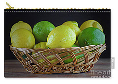 Lemon And Lime Basket Carry-all Pouch