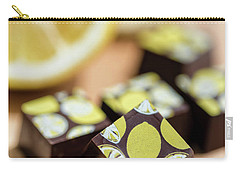 Lemon Chocolate Carry-all Pouch by Sabine Edrissi