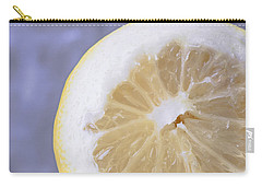 Lemon Half Carry-all Pouch by Edward Fielding