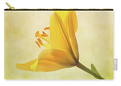 Lemon Lily Carry-all Pouch by Roy McPeak