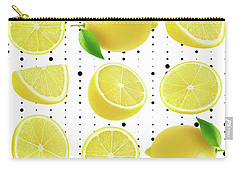Lemon  Carry-all Pouch by Mark Ashkenazi