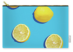 Lemon Pattern Carry-all Pouch by Rafael Farias