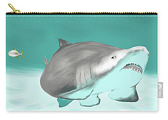 Lemon Shark Carry-all Pouch