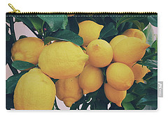 Lemon Tree Carry-all Pouch by Happy Home Artistry
