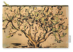 Carry-all Pouch featuring the painting Lemon Tree by Maria Langgle