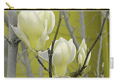 Carry-all Pouch featuring the photograph Lemon Yellow by Athala Carole Bruckner