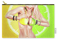 Lemons Or Limes Carry-all Pouch