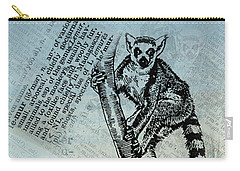 Lemur Catta Carry-all Pouch