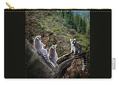 Lemur Family Carry-all Pouch