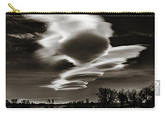 Carry-all Pouch featuring the photograph Lenticular Clouds Of Colorado by Marilyn Hunt