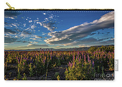 Lenticular Lupine Carry-all Pouch