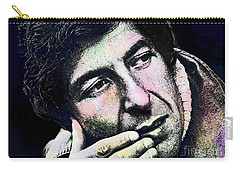 Leonard Cohen - Drawing Tribute Carry-all Pouch