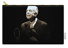 Portrait Of Leonard Cohen Carry-all Pouch