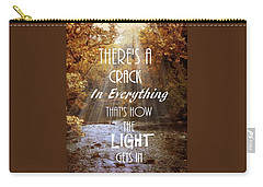 Leonard Cohen Quote Carry-all Pouch