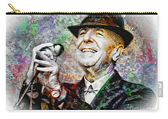 Leonard Cohen - Tribute Painting Carry-all Pouch