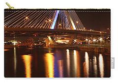 Leonard P. Zakim Bunker Hill Bridge Reflection 2 Carry-all Pouch
