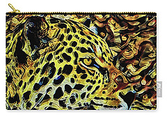 Leopard Abstract  Carry-all Pouch