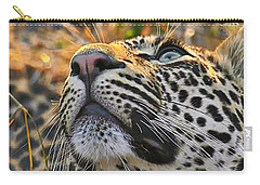Leopard Aloft Carry-all Pouch