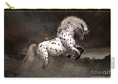 Leopard Appaloosa Shiloh Carry-all Pouch by Shanina Conway