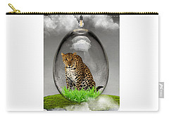Leopard Art Carry-all Pouch by Marvin Blaine