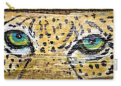 Leopard Eyes Carry-all Pouch