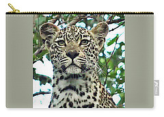 Leopard Face Carry-all Pouch