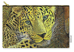 Leopard Gaze Carry-all Pouch