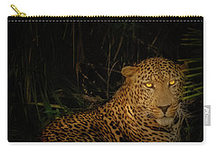 Leopard Hiding Carry-all Pouch