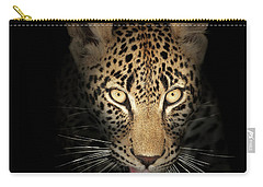 Leopard In The Dark Carry-all Pouch