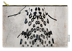 Leopard Moth Minimalist Nature Carry-all Pouch