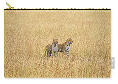 Leopard Pair Carry-all Pouch
