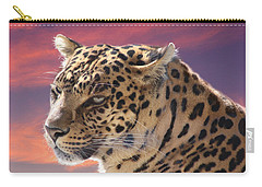 Leopard Portrait Carry-all Pouch