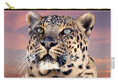 Leopard Portrait Number 3 Carry-all Pouch
