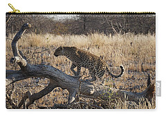 Leopard Tail Carry-all Pouch