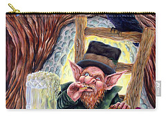 Leprechaun's Lair Carry-all Pouch by Heather Calderon